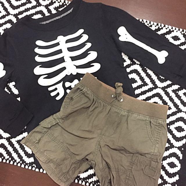 Carter's Shirt & Shorts Set