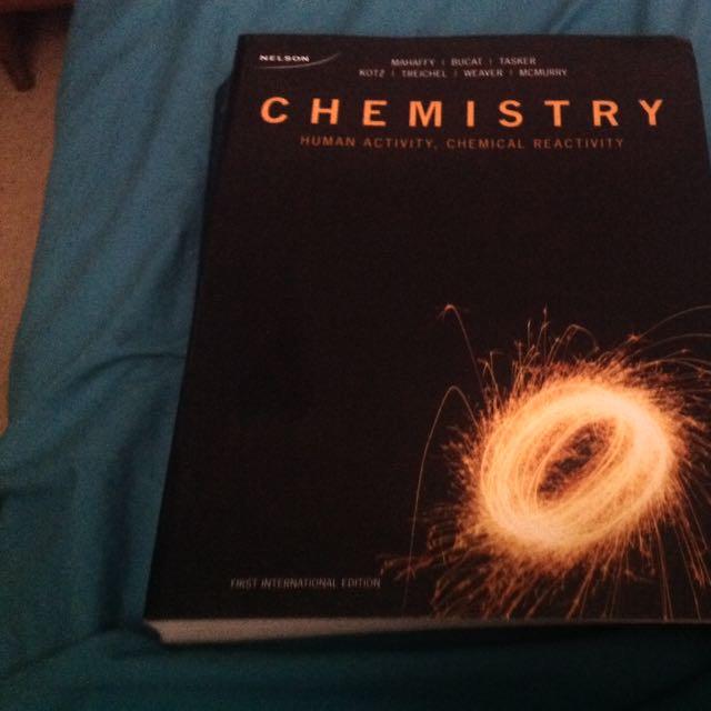 Chemistry First International Edition