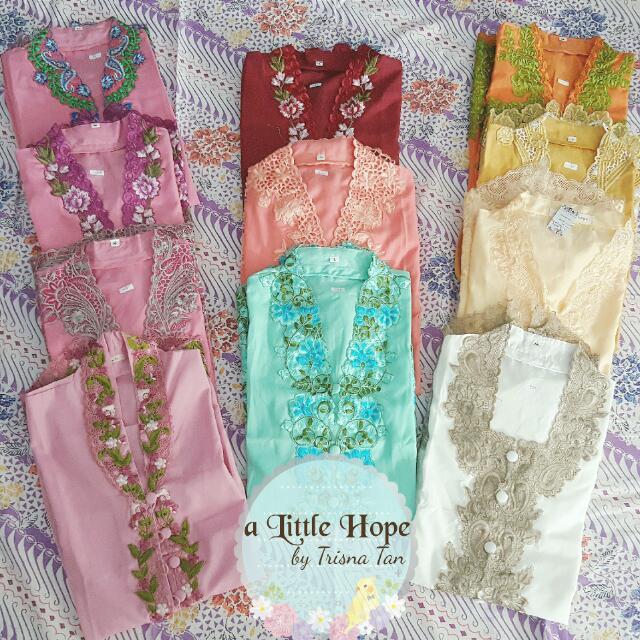 CNY Ready Kebaya Encim Embroidery