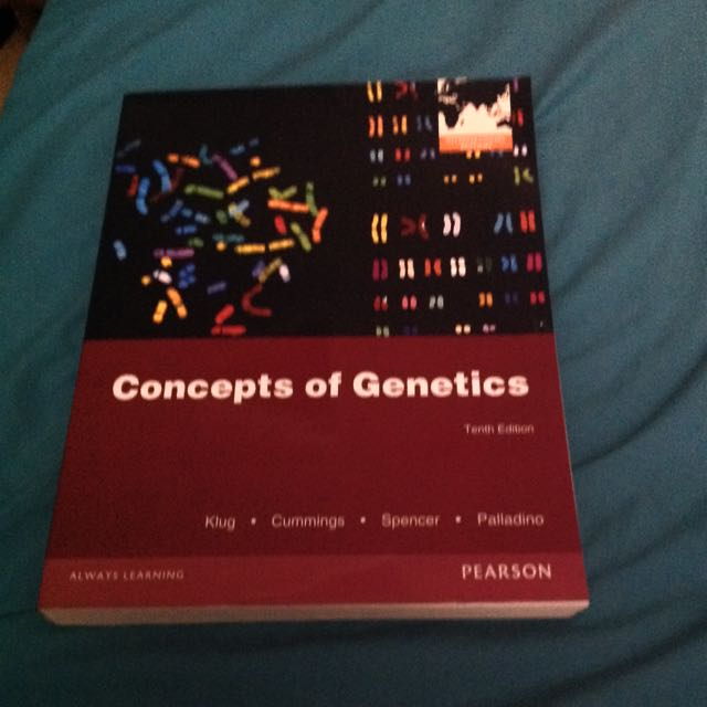 Concepts Of Genetics Tend Edition