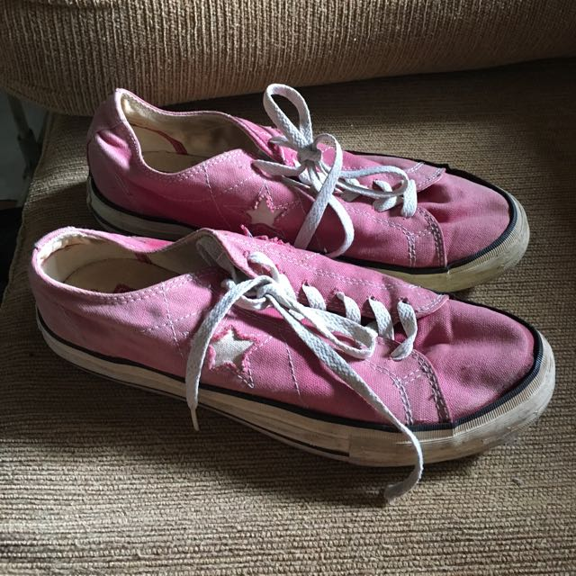 Converse All Star Pink Sneakers