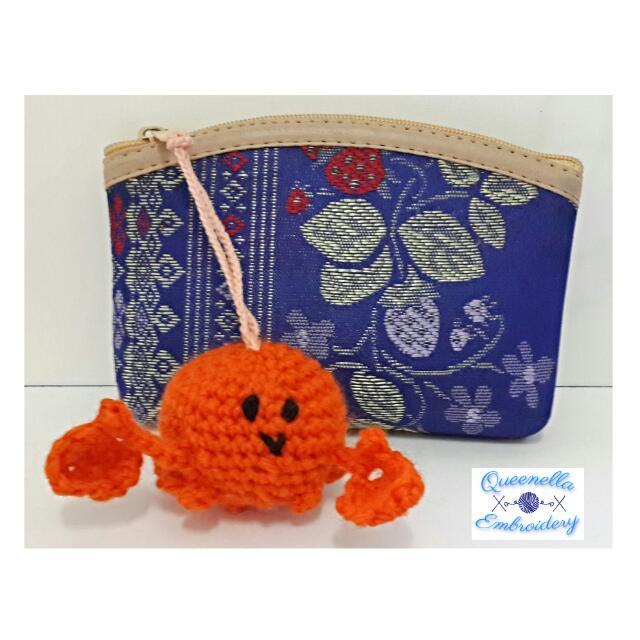 Crab Charm 🌊 小蟹仔吊飾