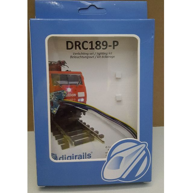 Digirails LED Head/Tail light set for 1:87 Piko BR189