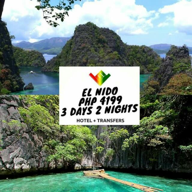 El Nido Package (Airfare not included) Minimum of 2 Pax