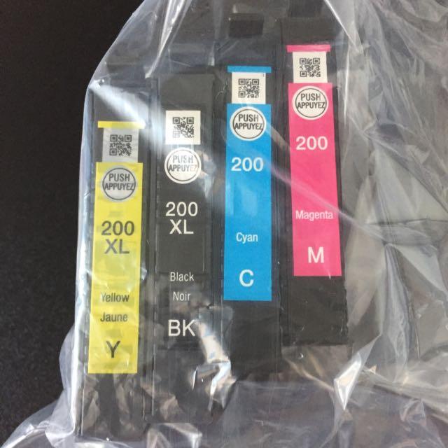EPSON 200 & 200XL Ink Cartridge
