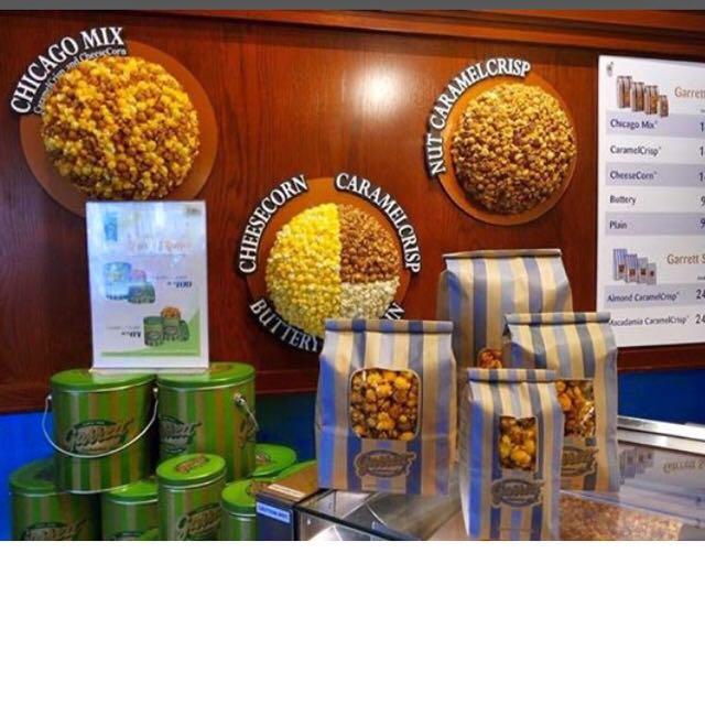 Garrett Popcorn Specialty Flavours - Snacks