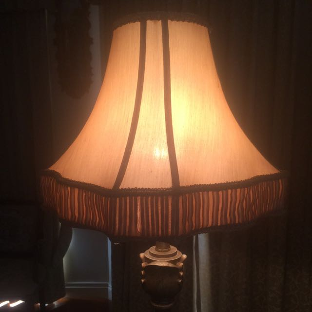 Gold Brass Lamp