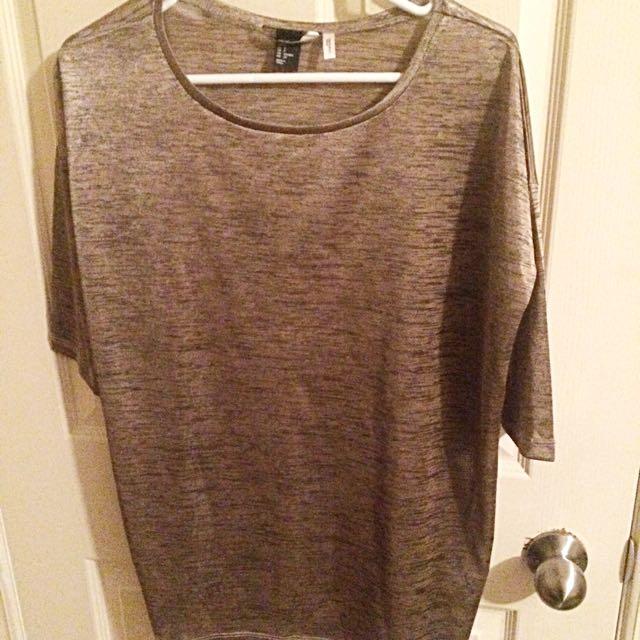 Gold H&M Shirt!!