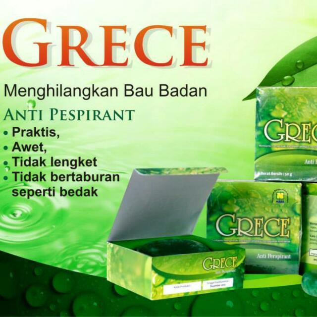 Grece Deodorant Alami, Olshop Fashion, Olshop Produk