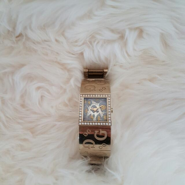 Guess Women Gold Watch