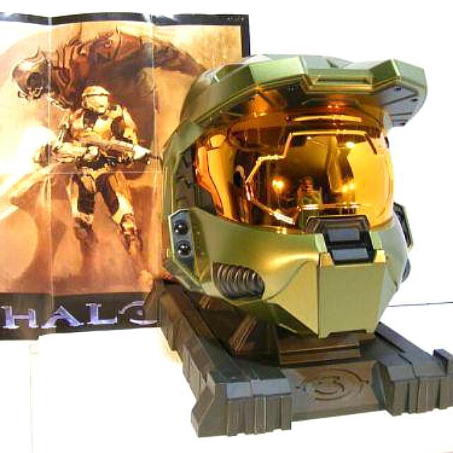 HALO Master Chief Game Storage Helmet