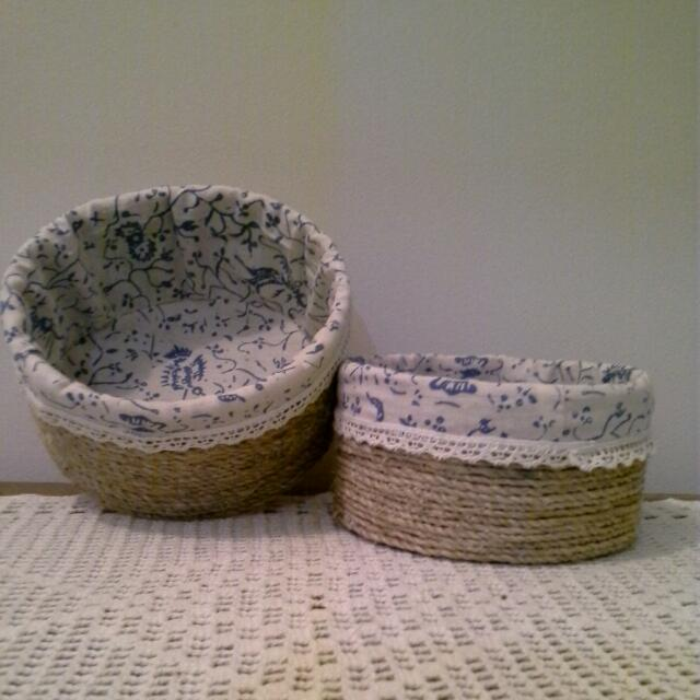 Handmade Container 2Pcs.
