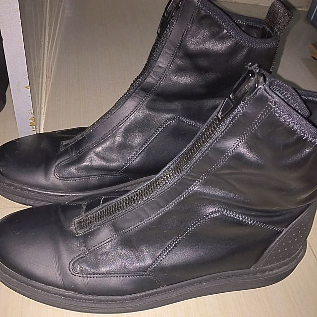 H&M Authentic Leather Boots
