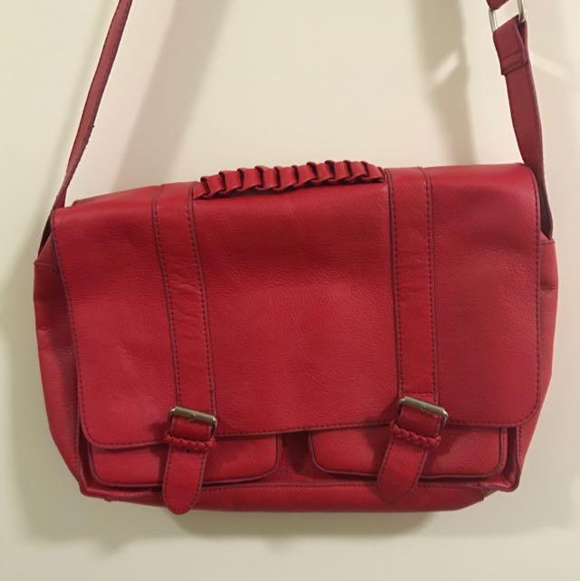 H&M Divine Red School Bag