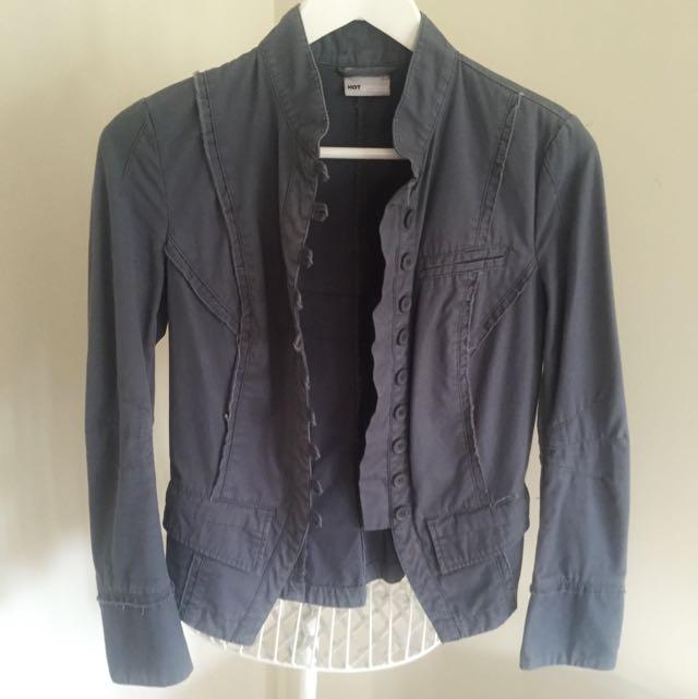 Hot Options Grey Jacket