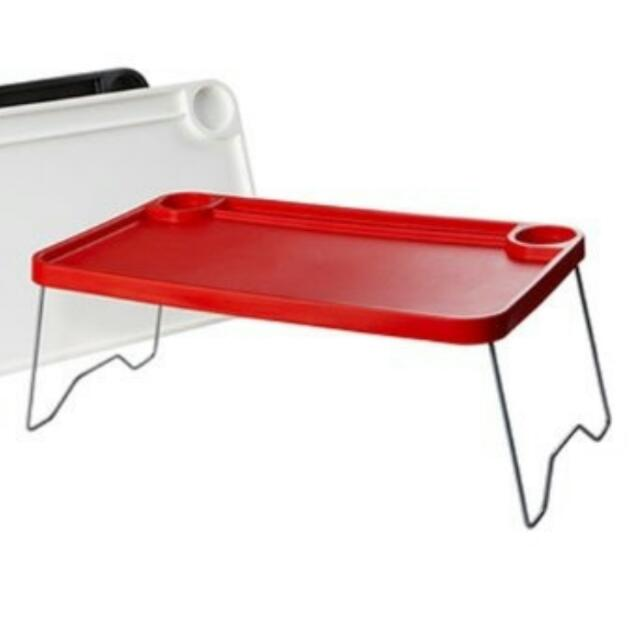 Marvelous Ikea Nordby Foldable Red Bed Tray Breakfast Table Laptop Home Interior And Landscaping Transignezvosmurscom
