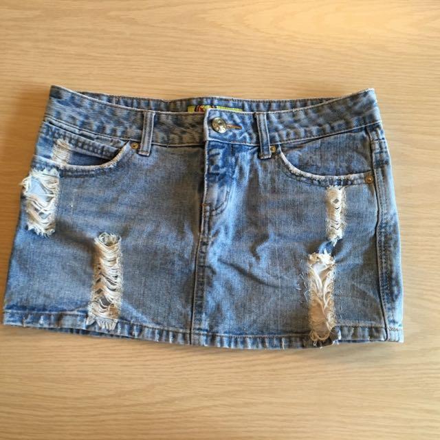 Jeans Skirt 牛仔裙