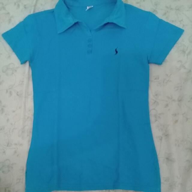 Kaos Polo Warna Biru