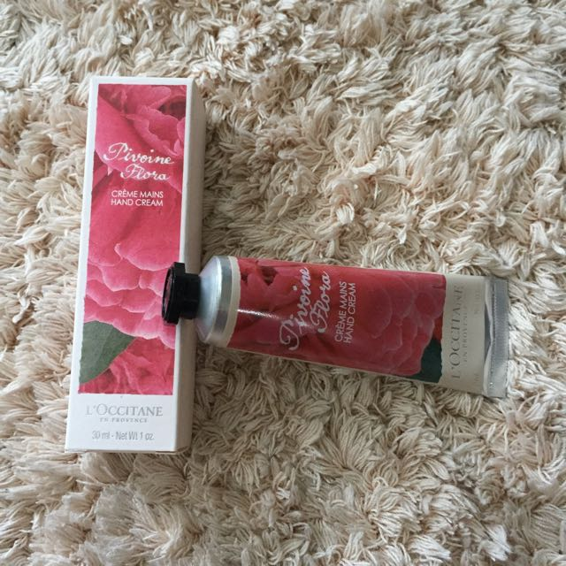 L'Occitane Hand Cream Pivoine Flora