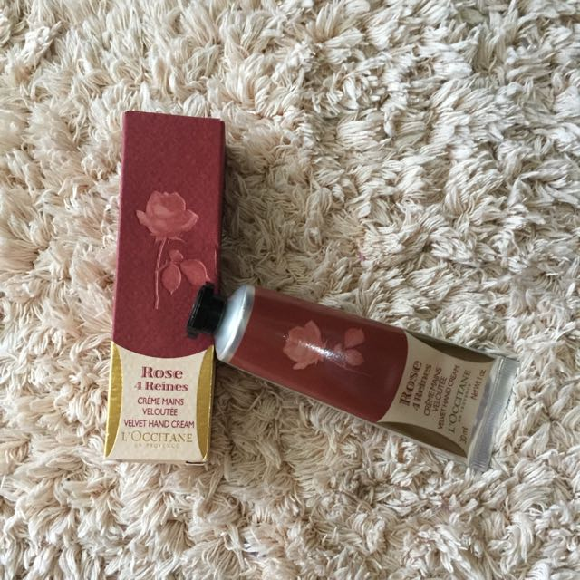 L'Occitane Hand Cream Rose 4 Reines