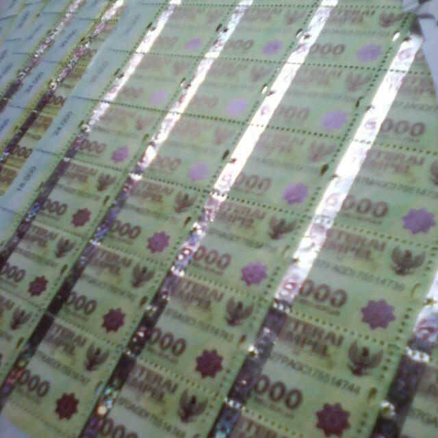 Materai 6000Baru (Price Grosir 1000Biji)