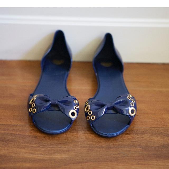 Melissa Sandals - Blue (size 40)