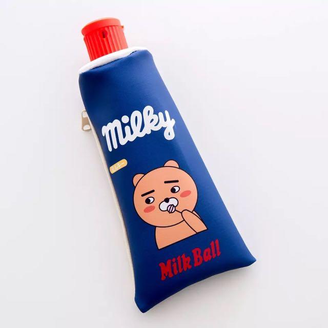 Milky小熊鉛筆盒筆袋韓國可愛萌