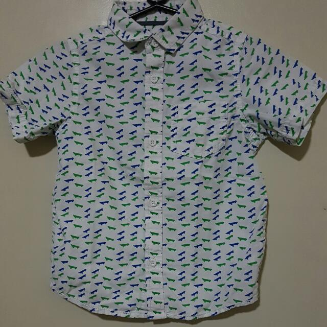 Mothercare Short Sleeves Shirt Boys 3 To 4