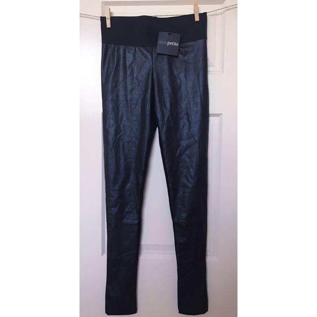⚡️NEW ASOS Petite Leather Leggings/pants