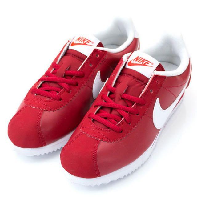 Nike 阿甘鞋 紅 24.5cm