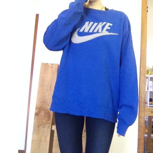 Nike Crew neck jumper UNISEX blue