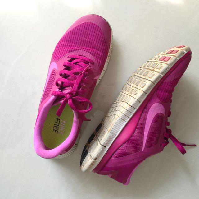 Nike Free Run 4.0 V3 Pink Women Shoes