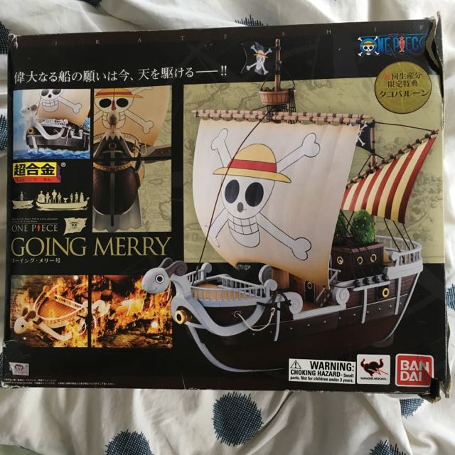 One Piece Going Merry Model Ship