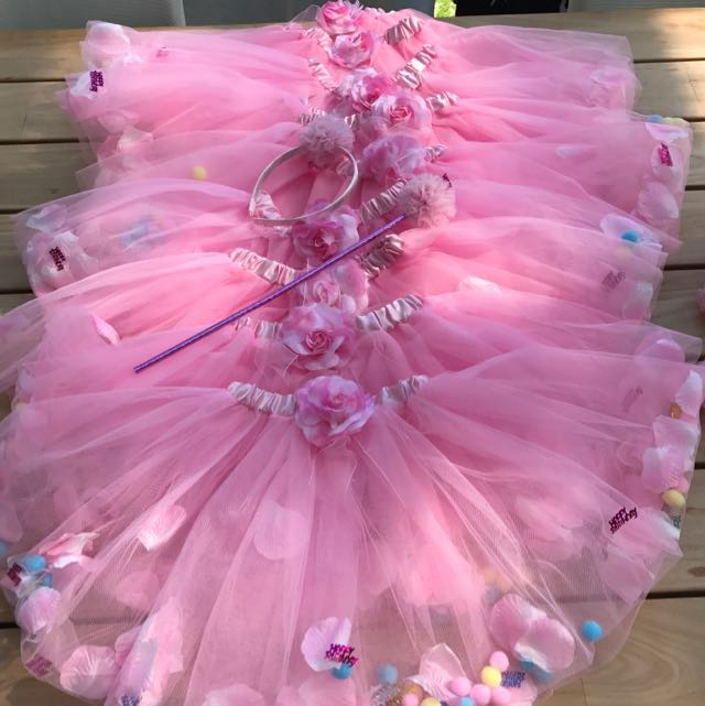 Party Tulle Skirts, Wands & Headbands