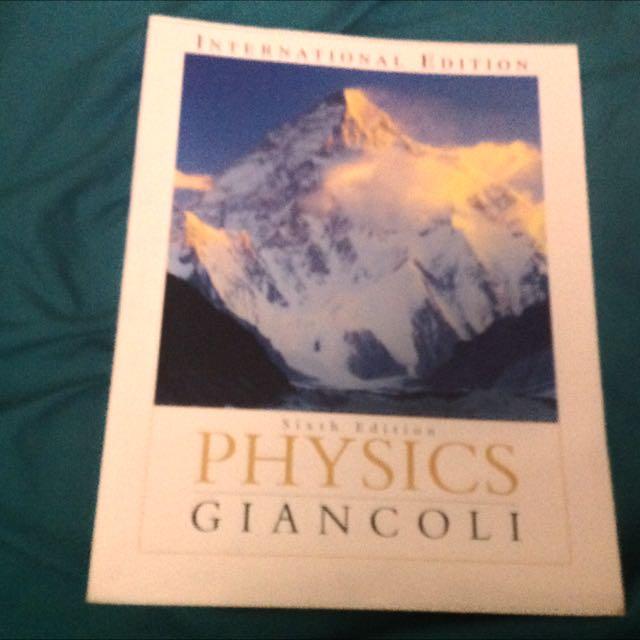 Physics Sixth Edition International Edition