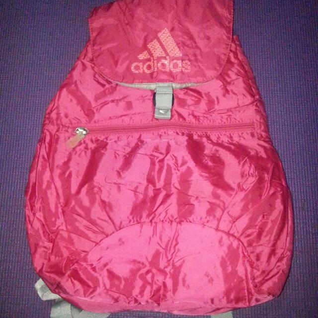 Pink Adidas Backpack