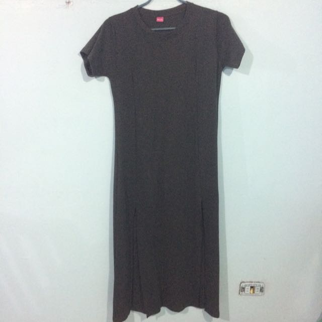 Plus Size Double Slit Maxi Dress on Carousell