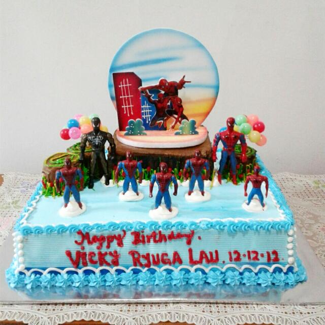 Cool Power Rangers Birthday Cake Food Drinks Baked Goods On Carousell Funny Birthday Cards Online Inifodamsfinfo