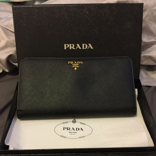 Prada Travel Wallet