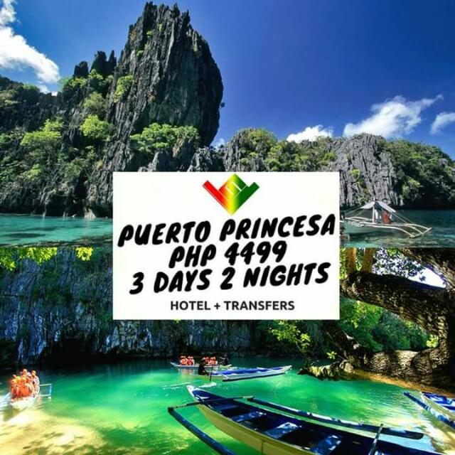 Puerto Princesa Package (Airfare not included) Minimum of 2 Pax