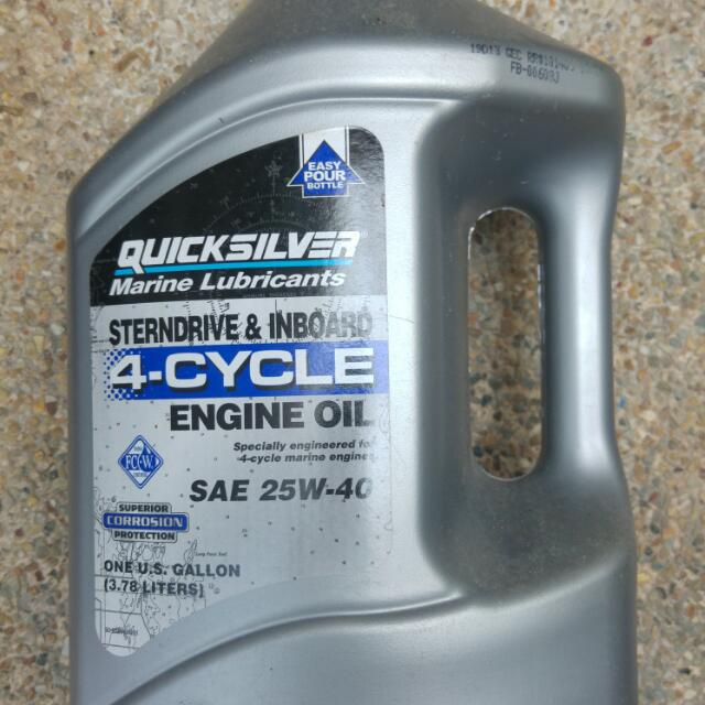 Quiksilver Marine Inboard Engine Oil on Carousell