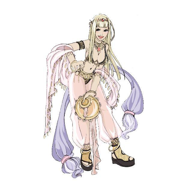 Ragnarok Online Dancer Cosplay Costume / Belly Dancing