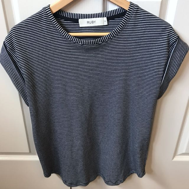 Ruby Striped Top