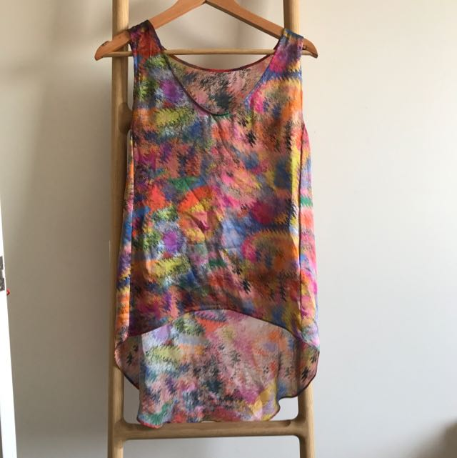 Scanlan&theodre Silk Top SZ 12