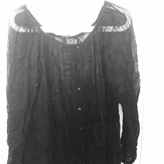 Size 14 Long Sleeve Summer Shirt