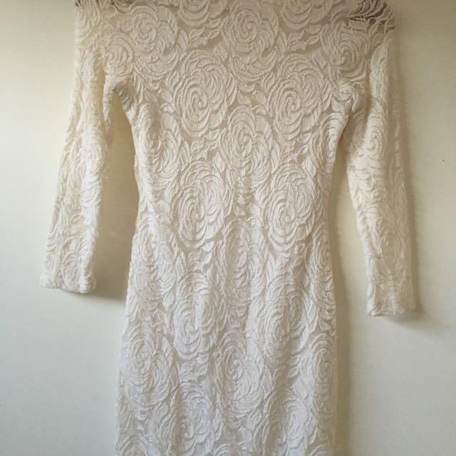Small White Lace Dress
