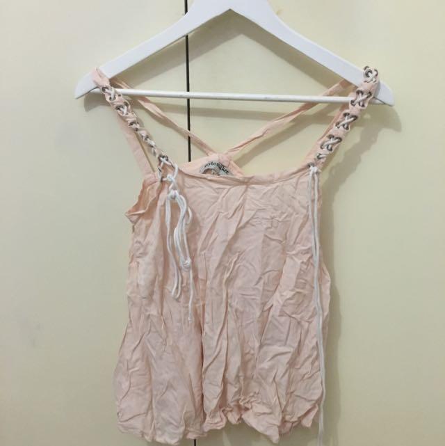 Stylestalker Nude Pink Top