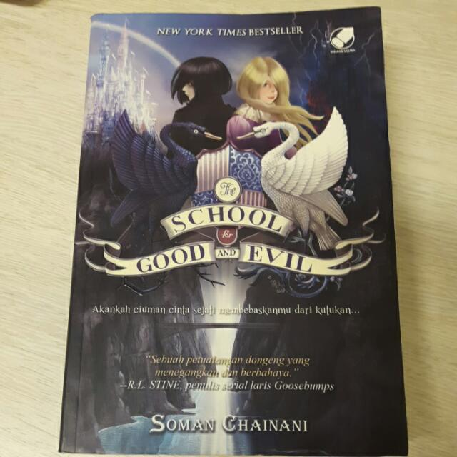 Novel 'The School For Good And Evil' By Soman Chainani