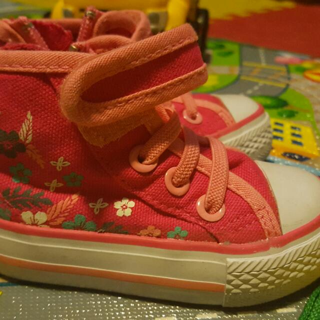 Toddler Girl High Top Running Shoes