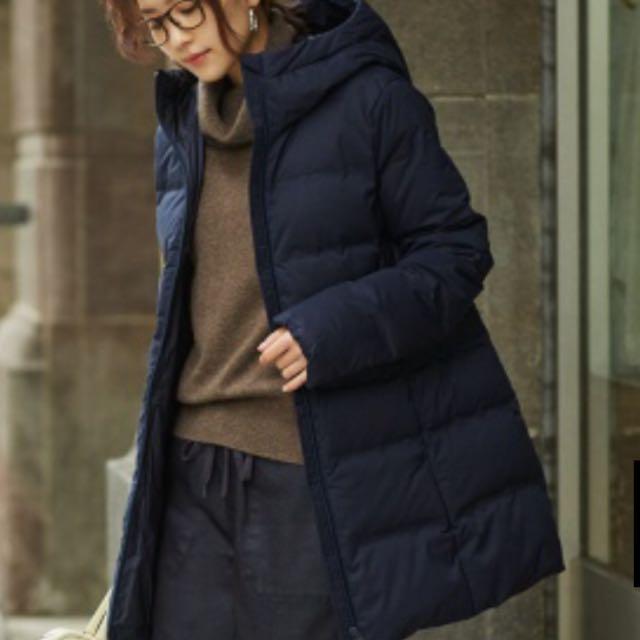 87e96b5d2 Uniglo ladies Black Seamless Down Short Coat, Women's Fashion ...
